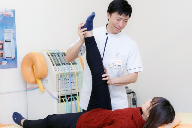 お身体の状態を解説しながらの施術